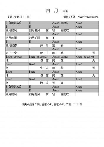 习明-四月0000
