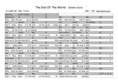 Skeeter Davis-The End of the world 后会无期0000